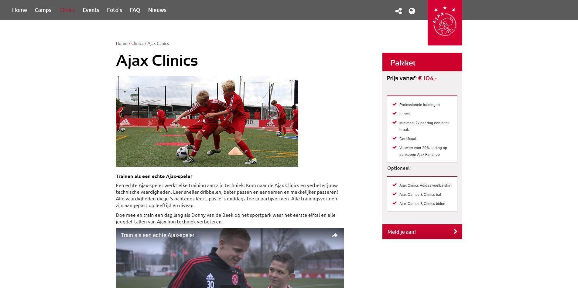 Ajax Clinics