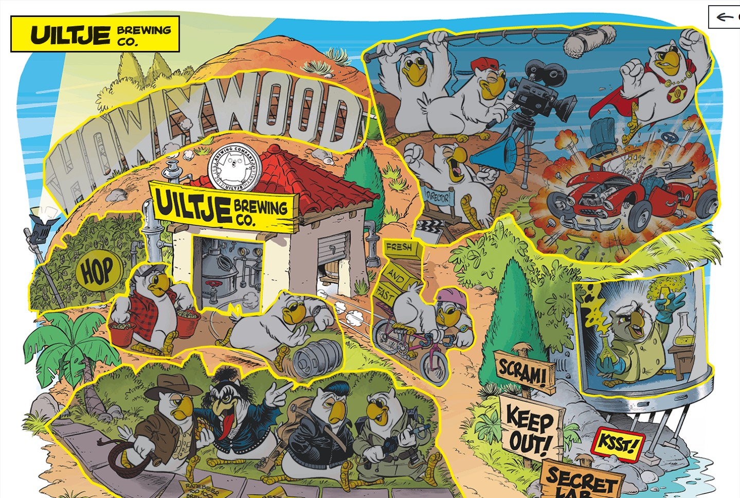 Open our world Howlywood