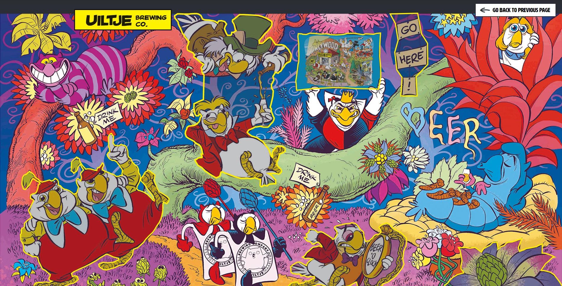 Open our world Alice in Wonderland